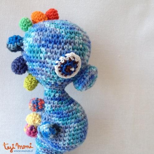 Caballo Azul Mo - perfil